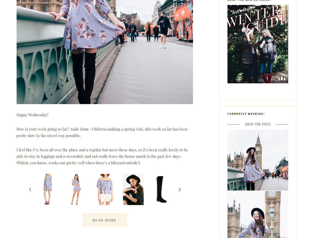 Learn how to design and create a professional looking fashion blog with no coding experience needed! // Click the image to read the full post.