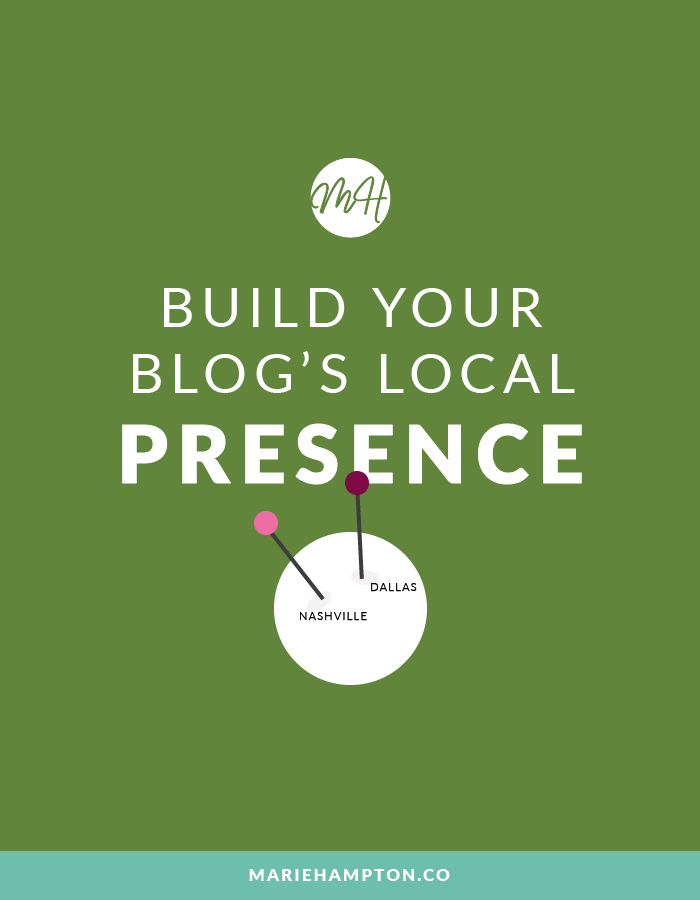 Creative ways to build your blog's local presence. Connect with local brands, network with other bloggers, and expand your reach as a lifestyle blogger. // Click the image to read the full post.