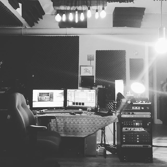 Up late tonight working on some cinematic stuff. #studiolife #lamusic #newmusic