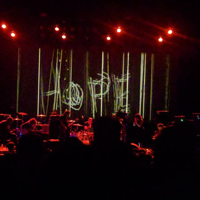 Godspeed! You Black Emperor is way too good. #postrock #wiltern #loudaf