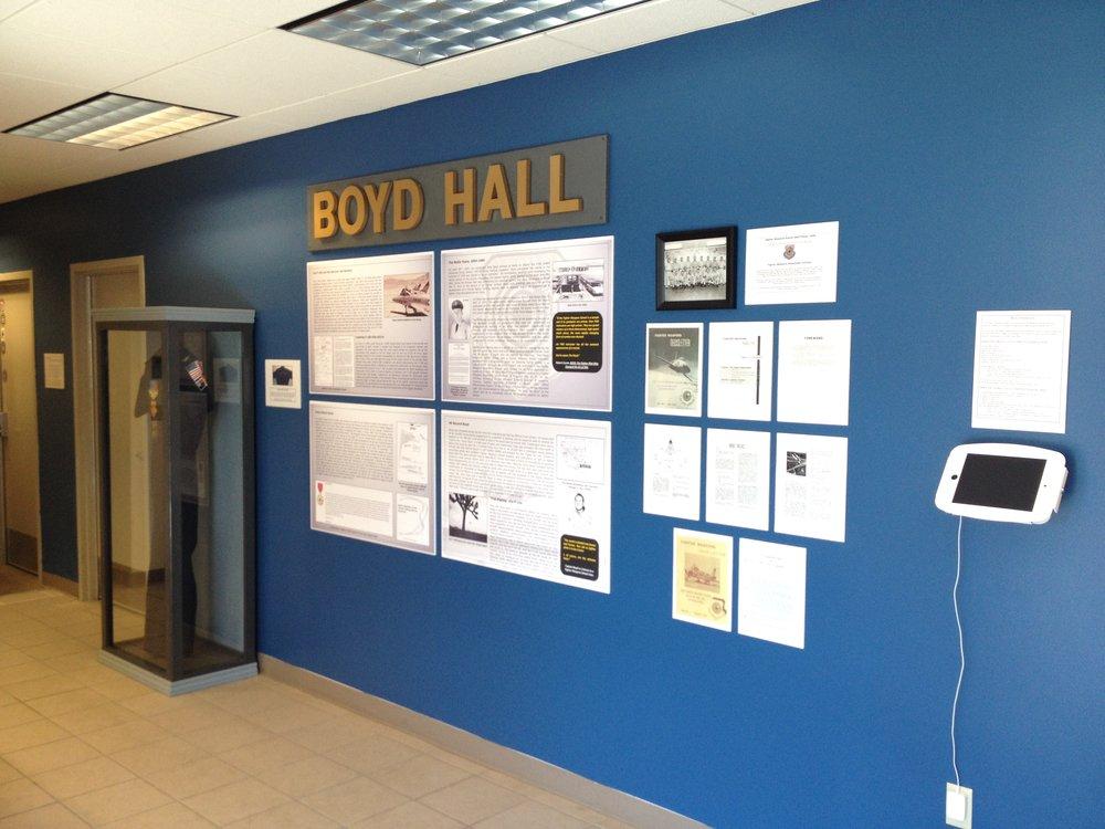 Entrance to Boyd Hall