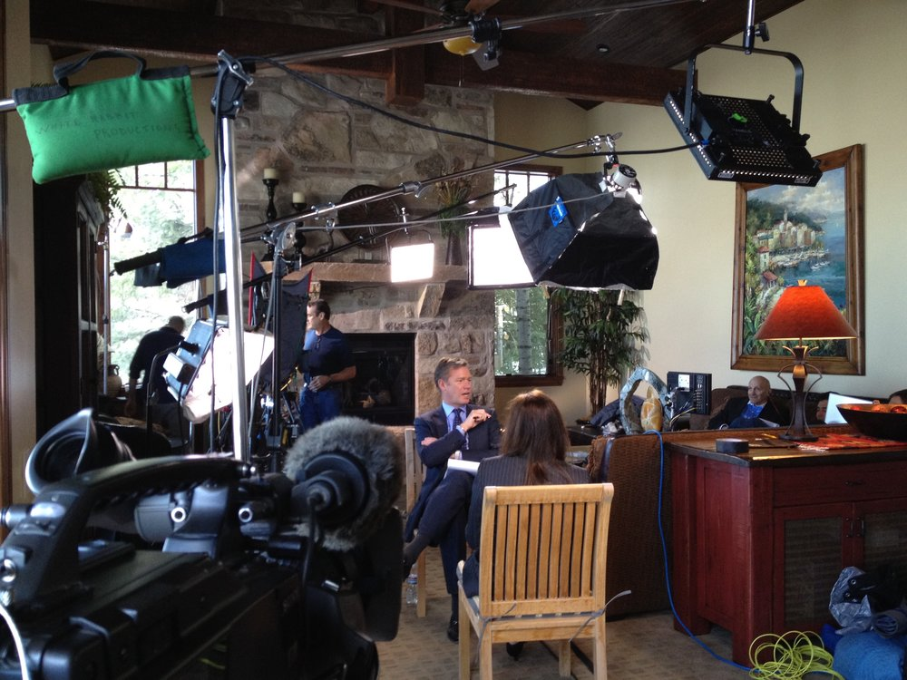 Lighting an NBC Dateline Interview with Chris Hansen Behind the Scenes