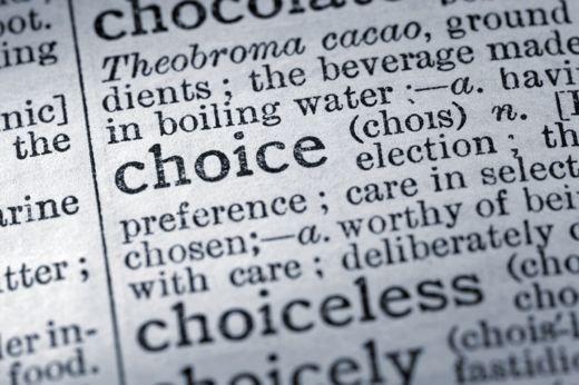 choking on choice