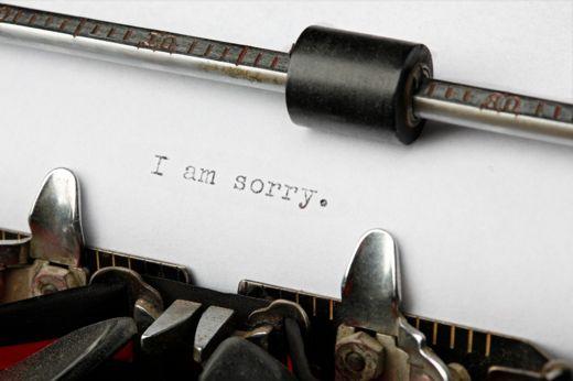 Vintage Typewriter Letter