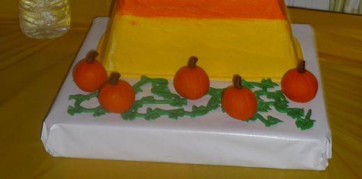 bottom of cake