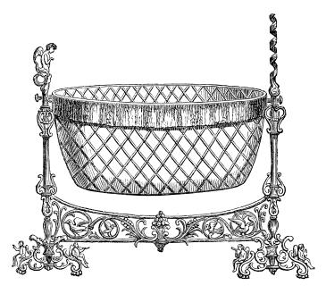 victorian baby bed