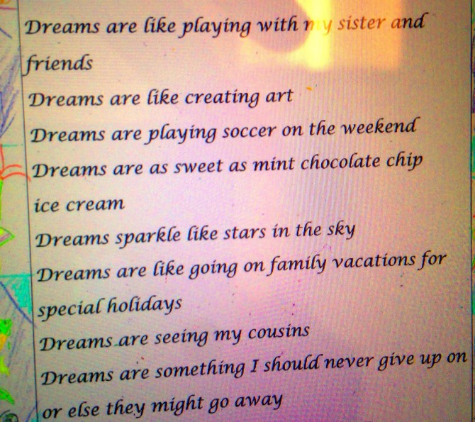 DREAM POEM