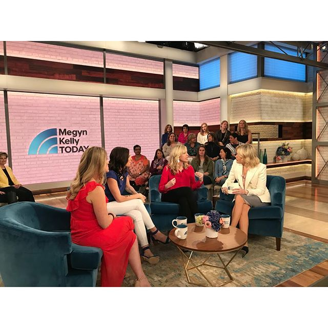 Oh what a big day for me, for this conversation. More photos to come, but thank you @megyntoday for having @laura_mckowen @kelleykitley and me on. ✨✨