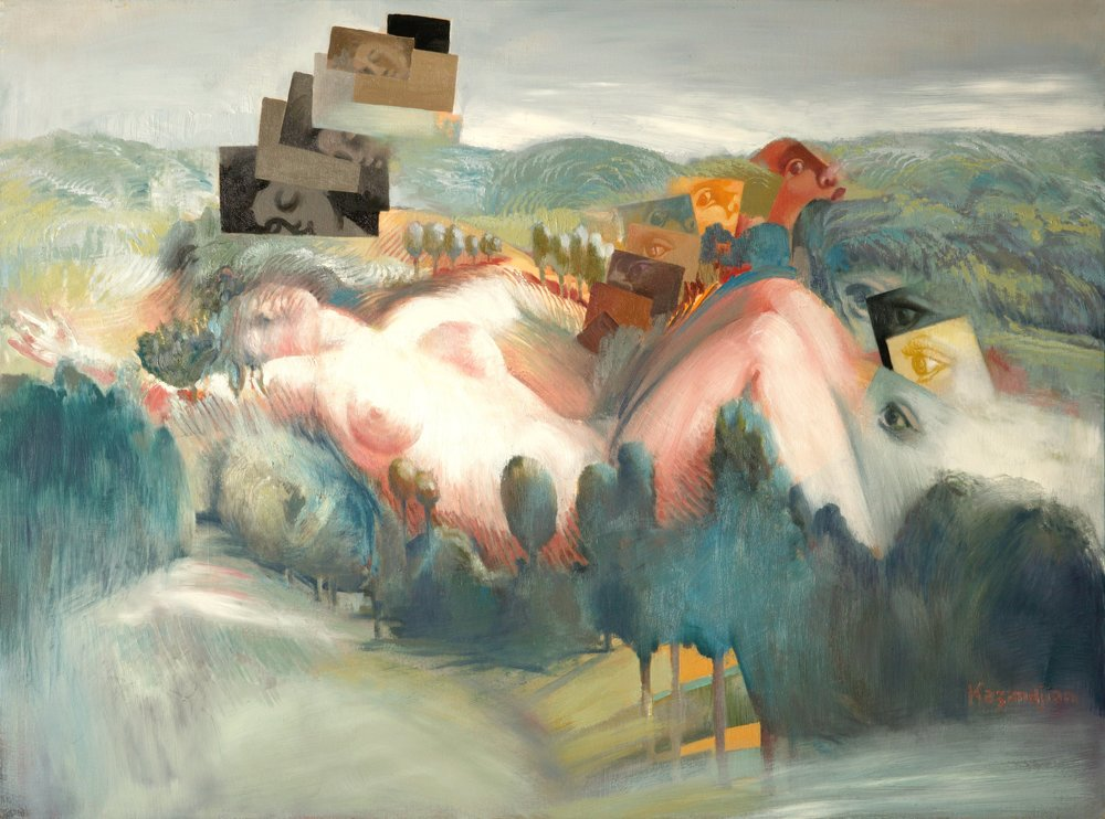WOMEN IN LANDSCAPE