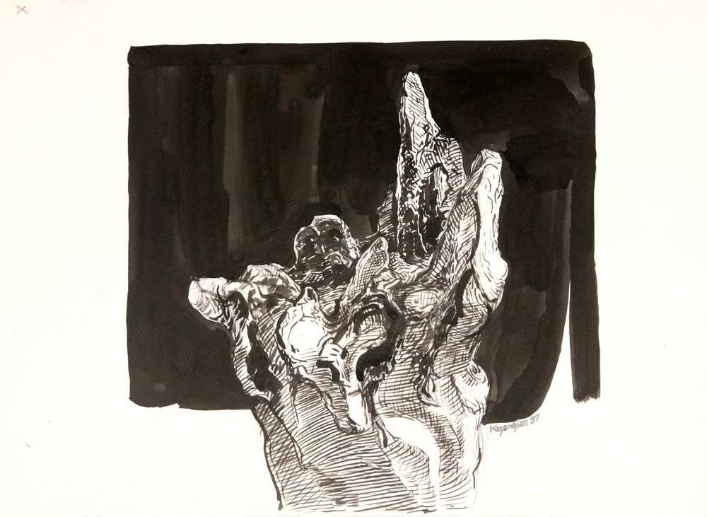 Study for a Landscape - Sculpture