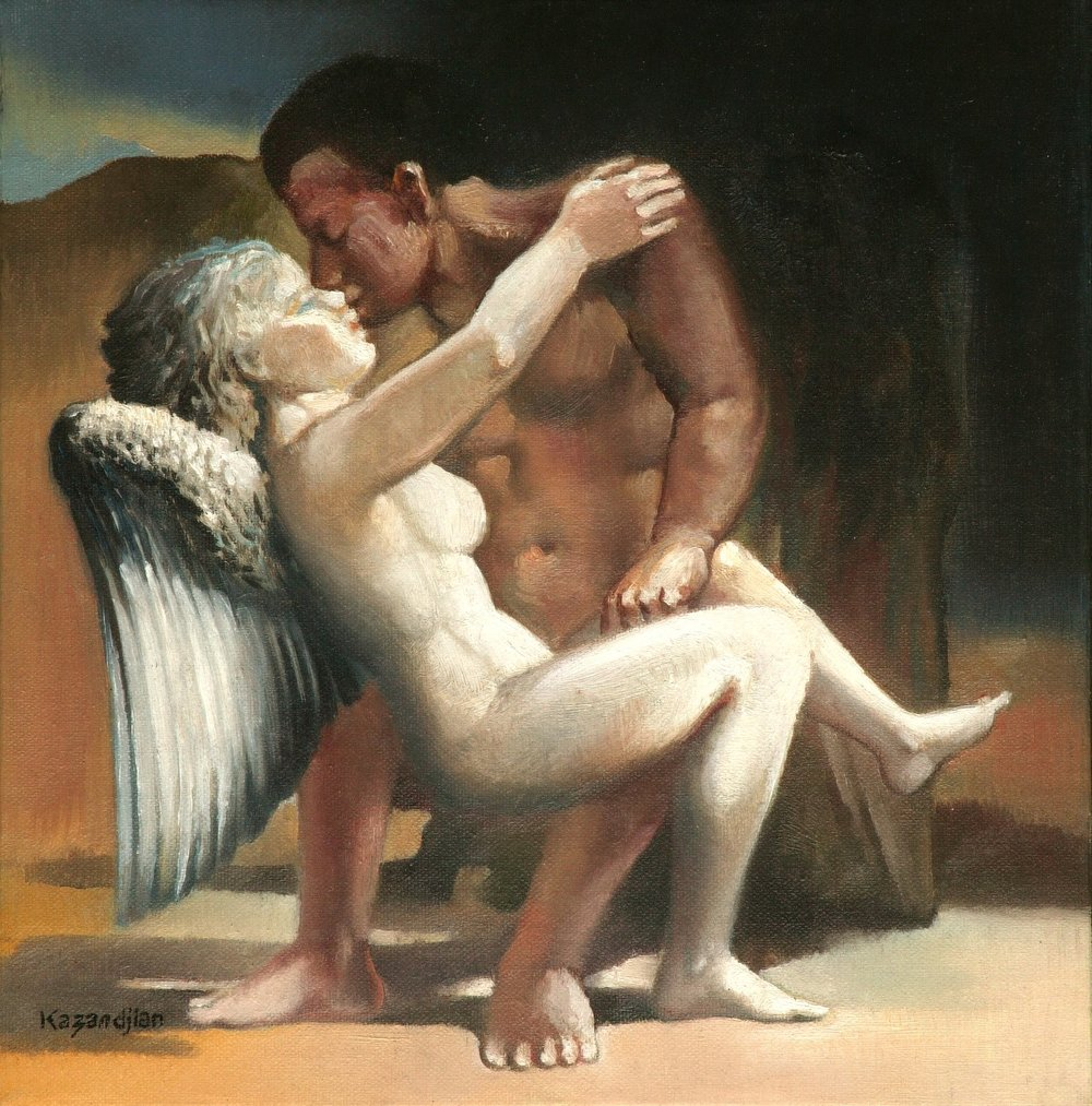 KISSING THE ANGEL
