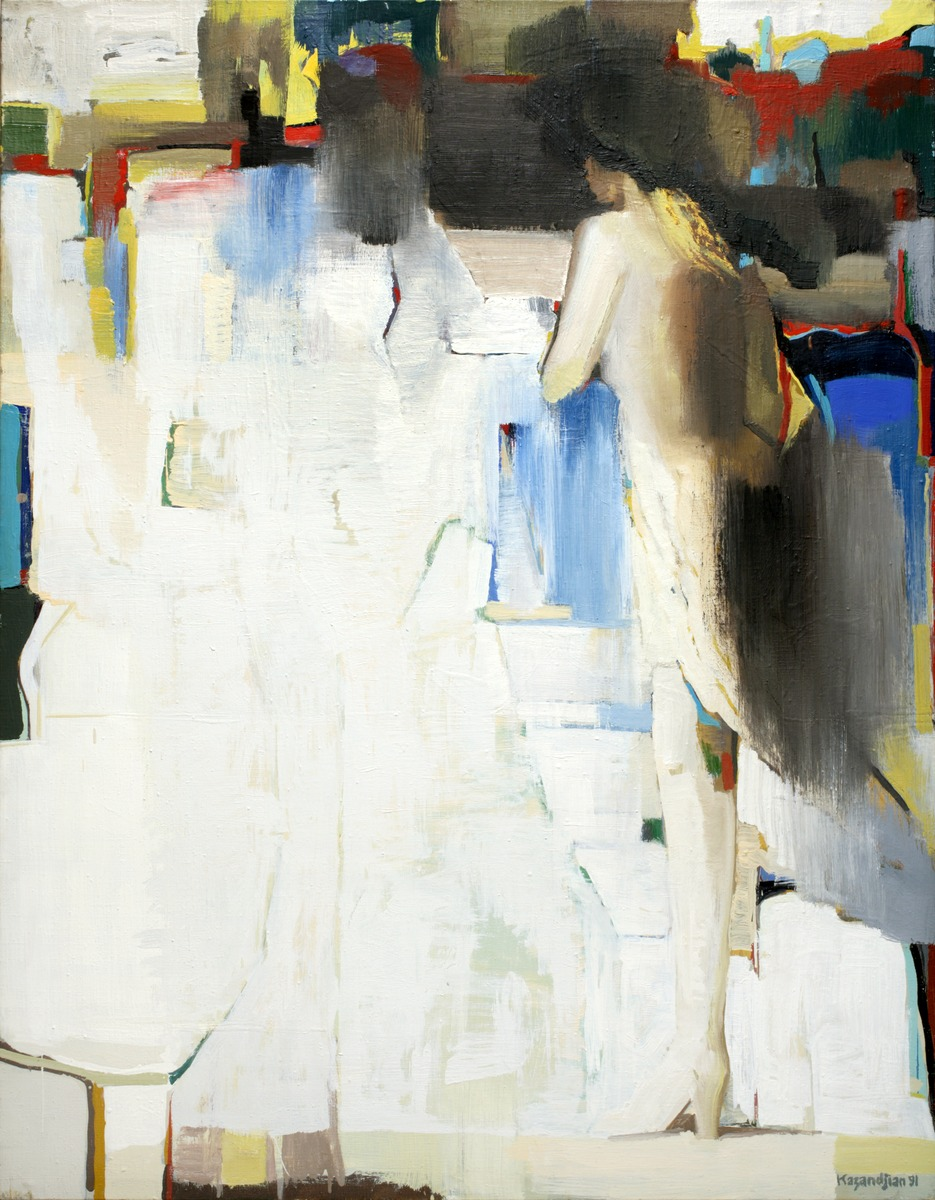 COMPOSITION WITH WOMAN