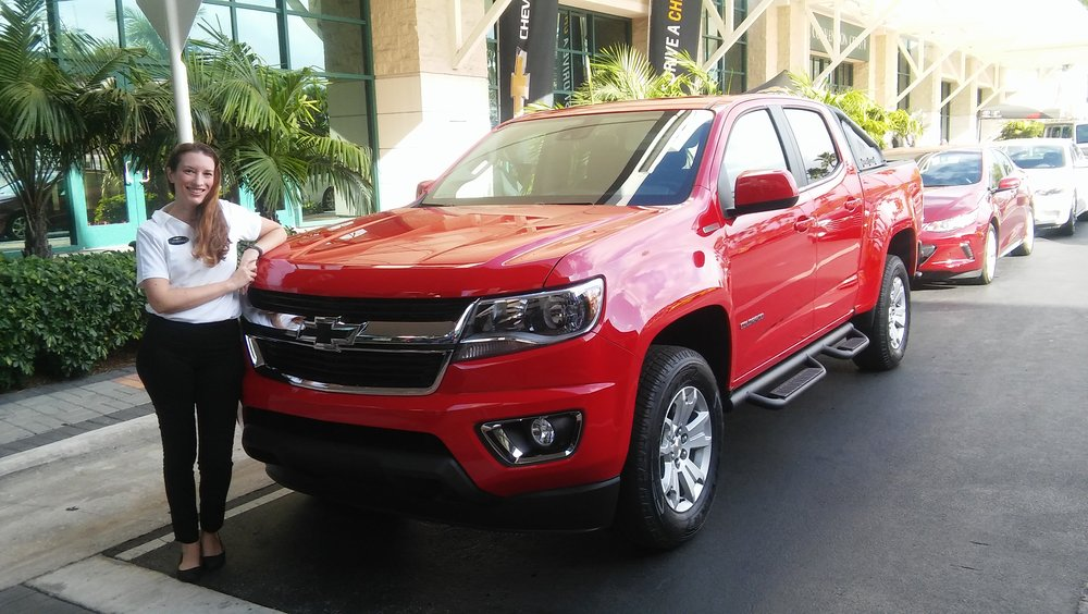Chevrolet at Fort Lauderdale International Auto Show