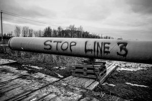 Image result for stop line 3 resistance camp
