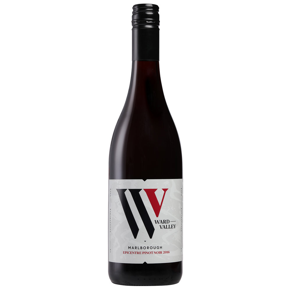 - Ward Valley 'Epicentre' Pinot Noir 2015, Marlborough NZWard Valley 'Epicentre' Pinot Noir 2016, Marlborough NZ