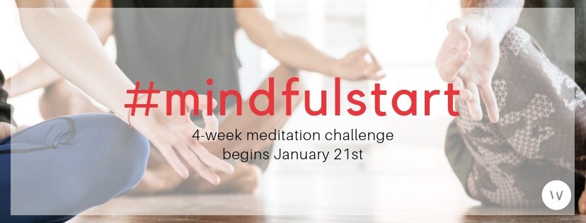 Join our #MindfulStart Meditation Challenge and get the tools, techniques and community to start (or restart!) your meditation practice.