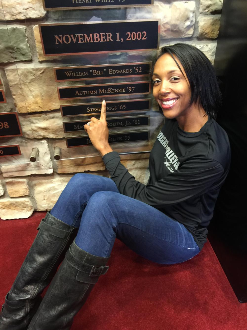 Colgate University Hall of Honor Inductee: Autumn McKenzie Jackson