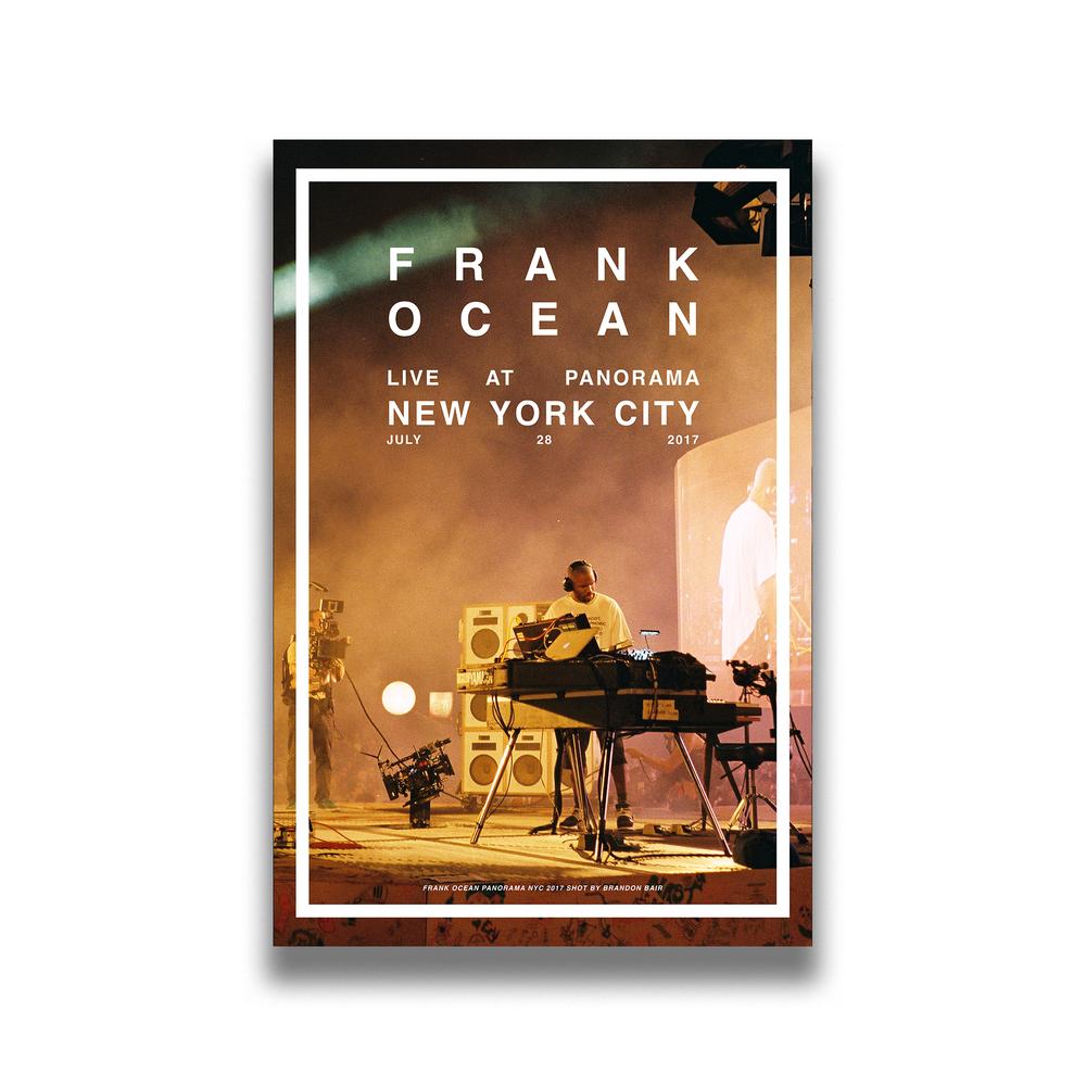 Frank Ocean Panorama 2017 Poster Iambrandonbair