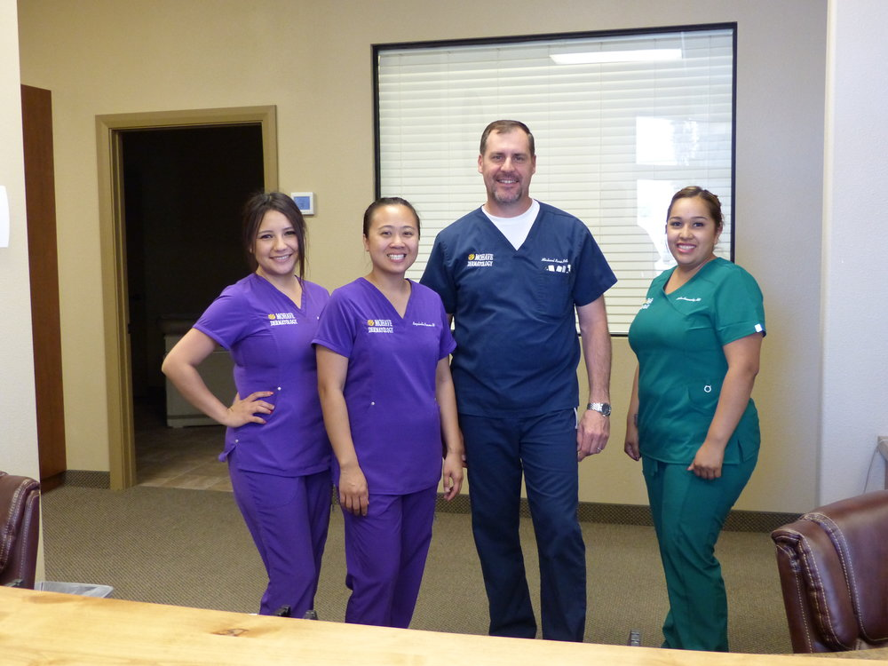 The Staff at Mohave-Dermatology in Mesquite, NV.