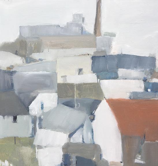 Katoomba #9, 2018   oil on canvas 76 x 76cm