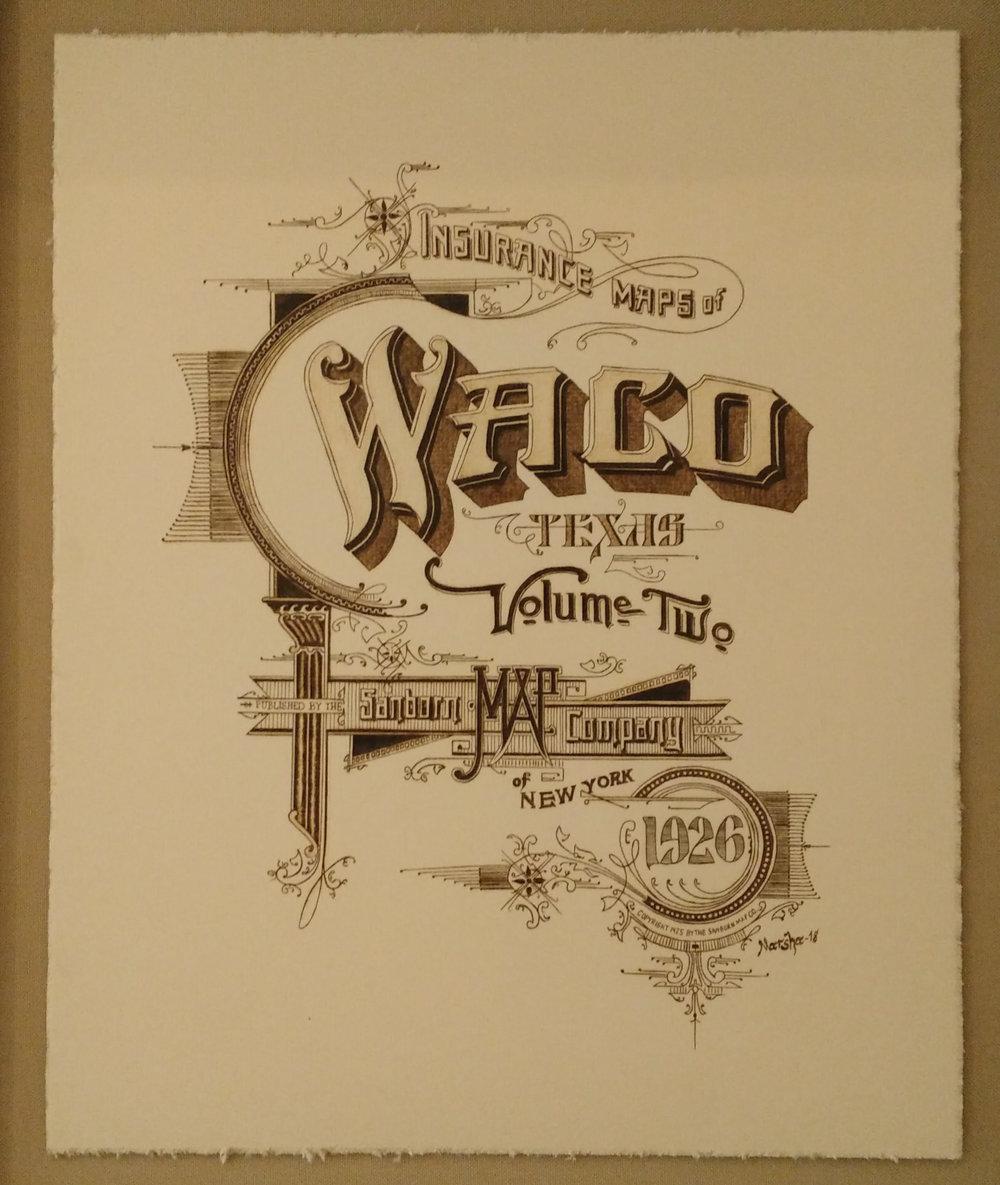 """Sanborn Waco"" by Marsha Wilson"