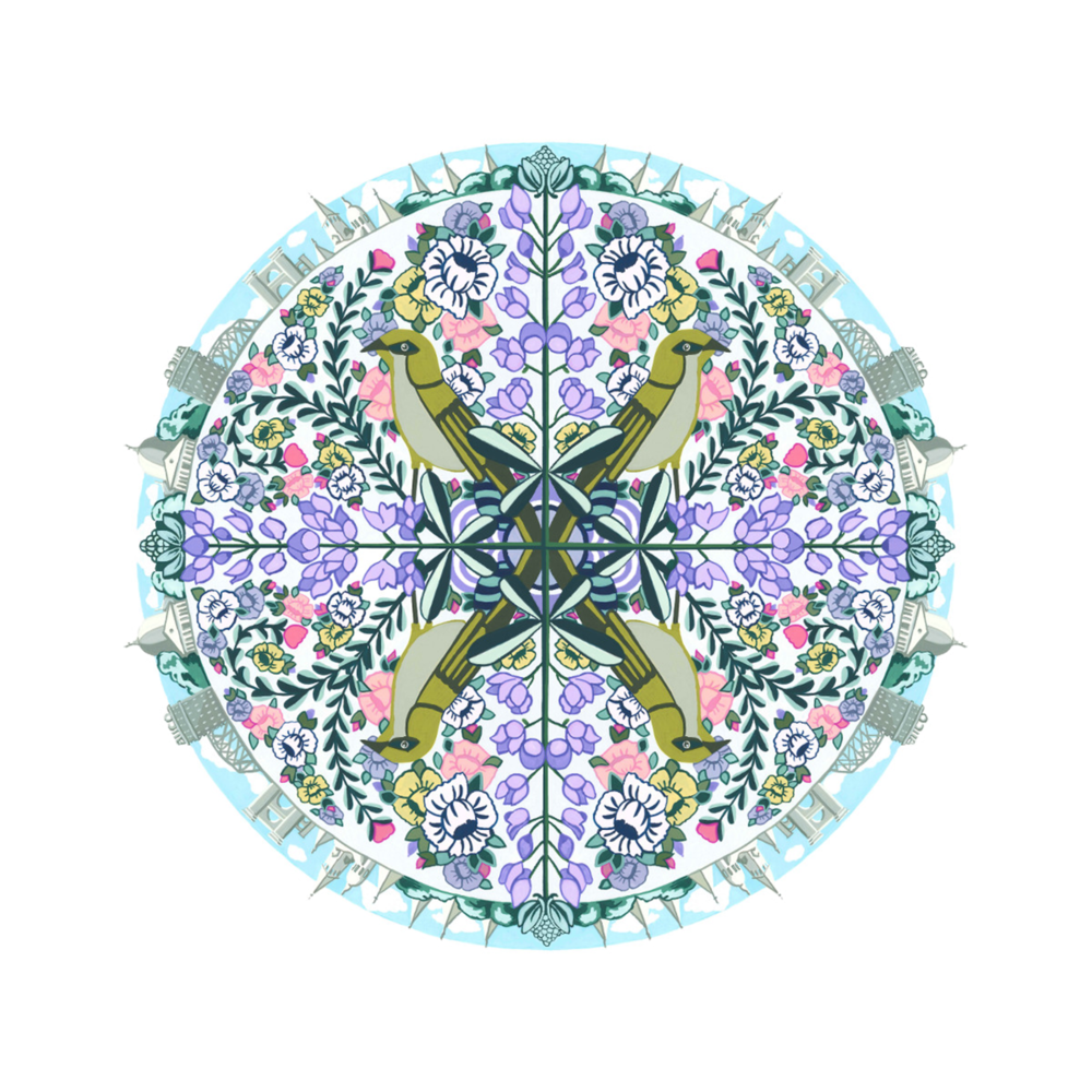 """Waco Mandala"" by Rhiannon Rosenbaum"