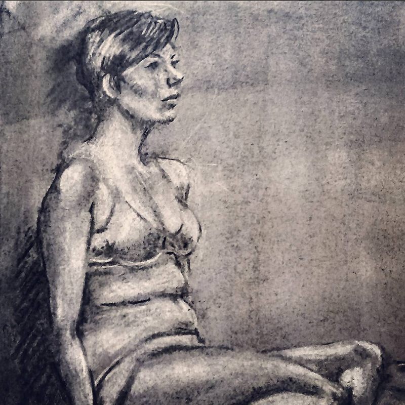 Figure Drawing - with Katherine Makowsky and Katie Ward