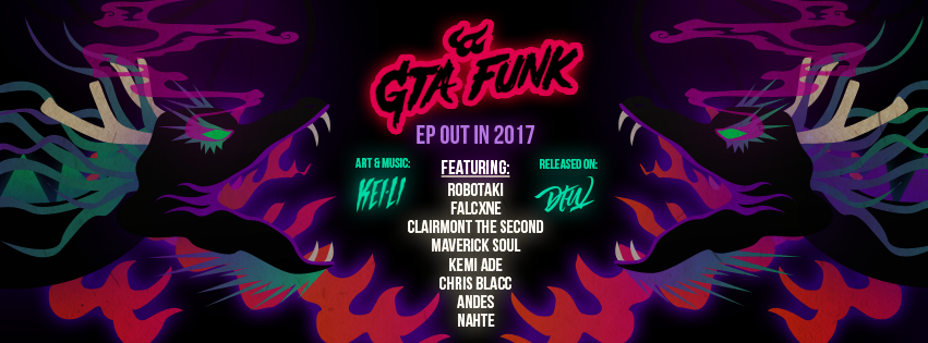GTA Funk Promotional Banner Artwork