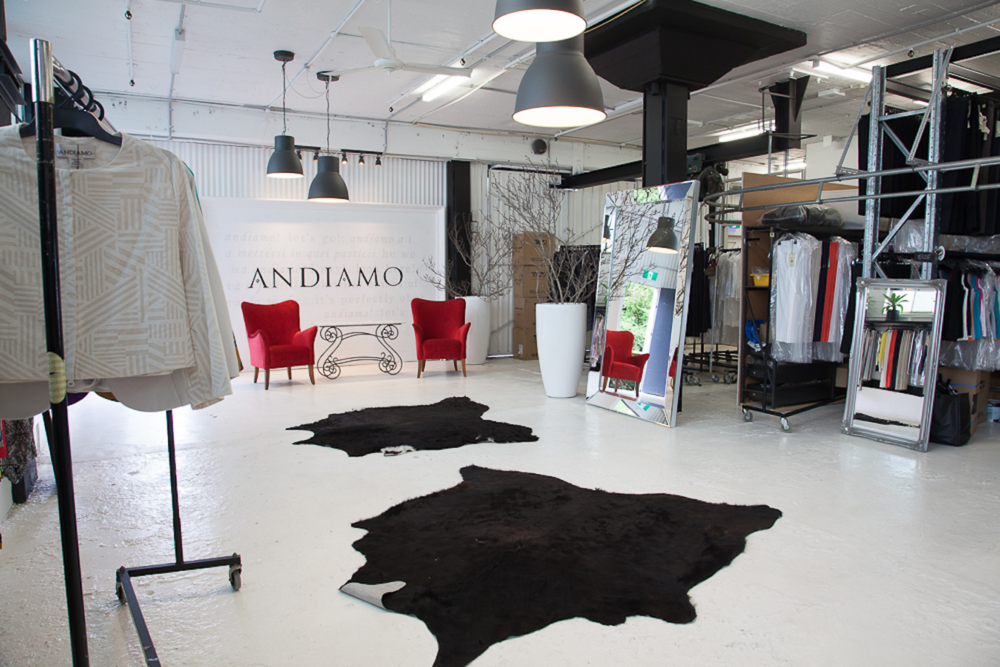 Exclusive, semi-private shopping @ ANDIAMO with Vivienne Cable
