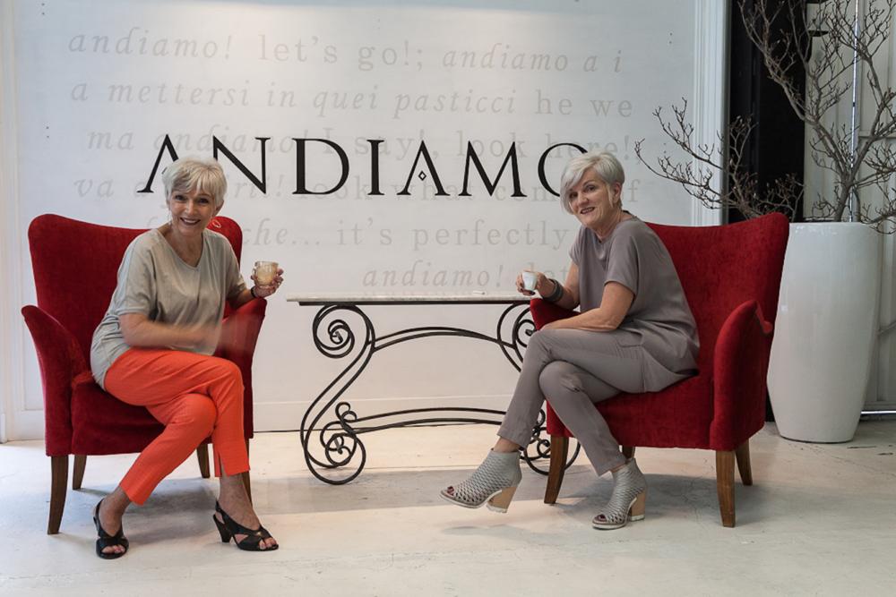 VIV and RONNI, Andiamo's Designer