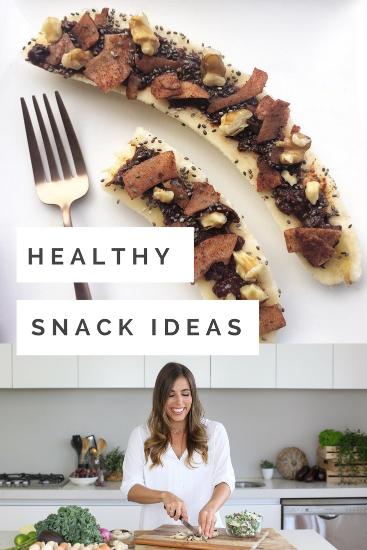 Healthy Snack ideas for work