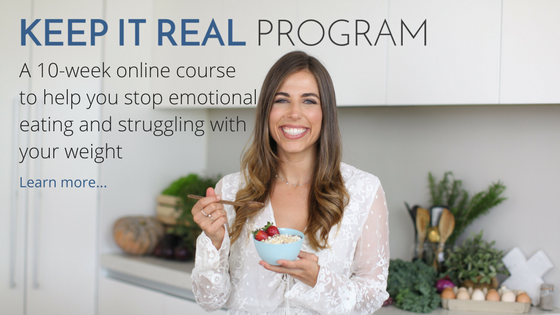 Stop Emotional eating with the Keep It Real Program