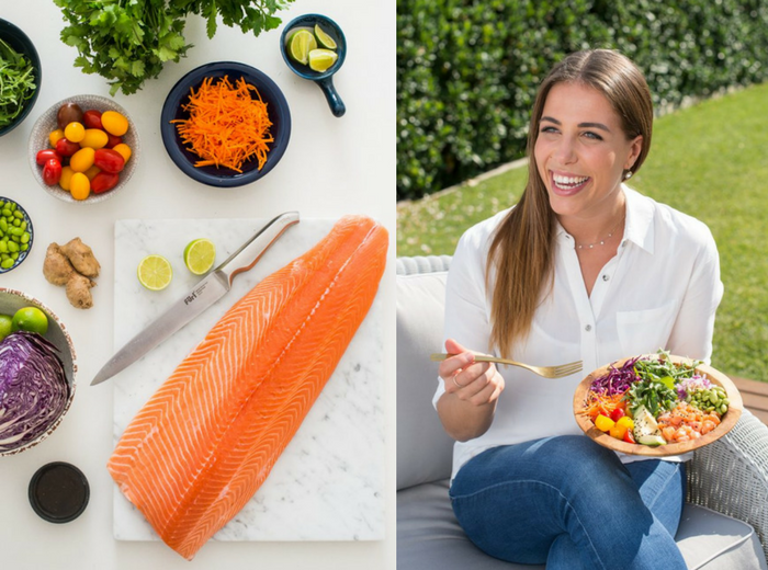 healthy salmon Huon Poke Bowl Recipe