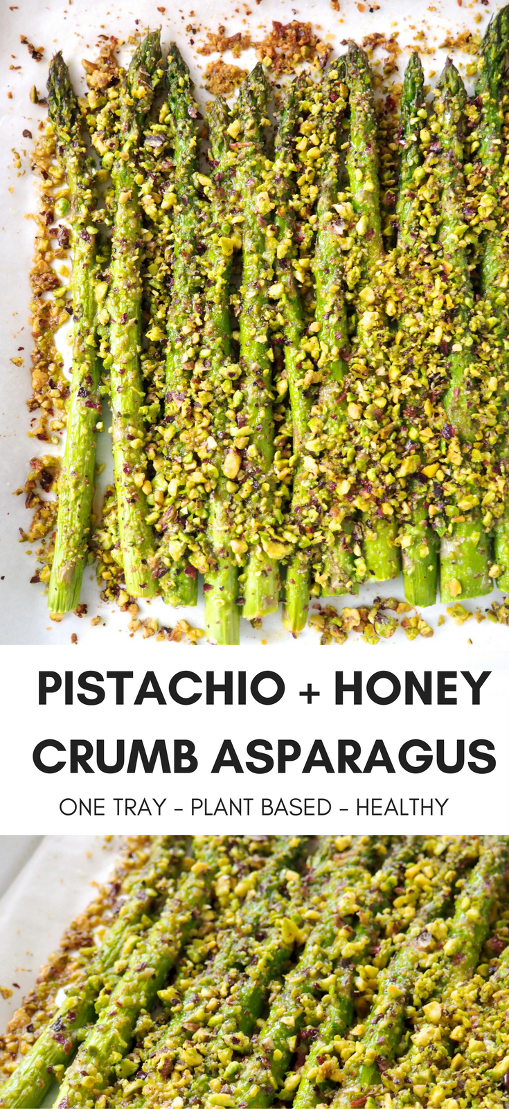 Pistachio Honey Crusted Asparagus Recipe