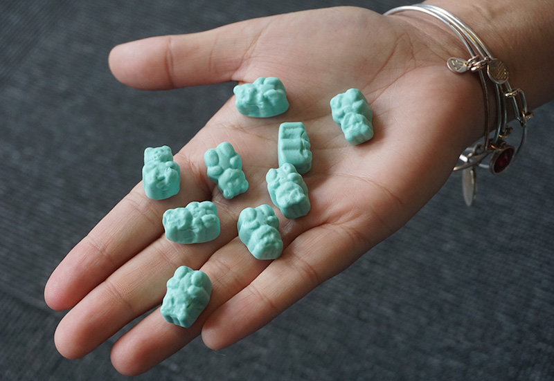 Do you need blue hair gummies?