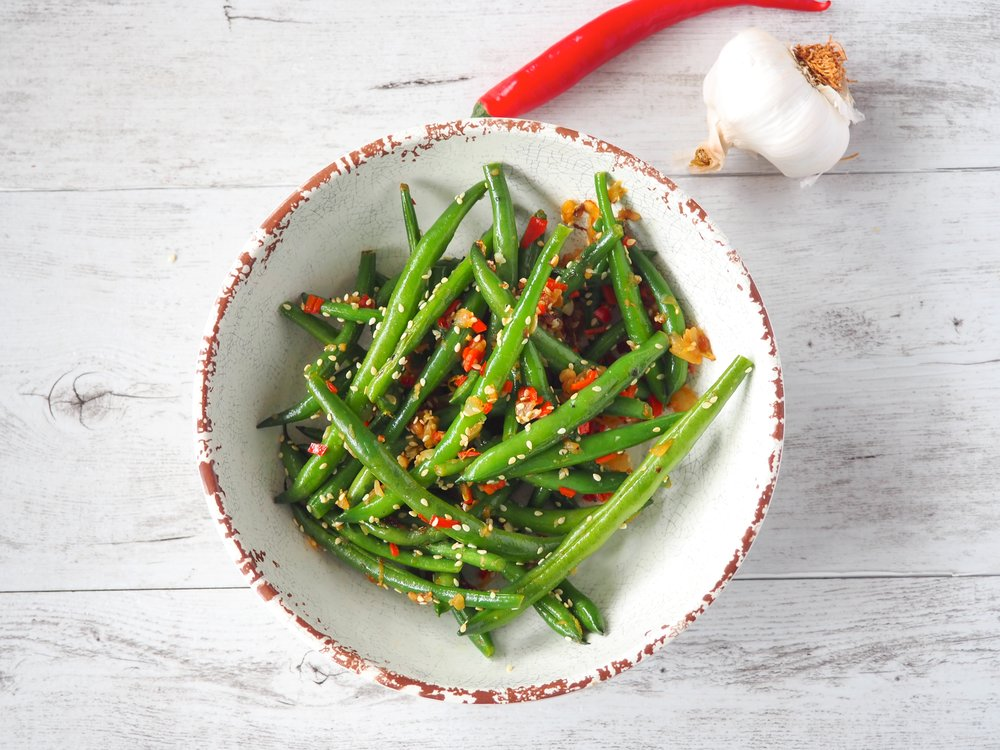 Chilli Garlic Green Beans Keep It Real.JPG