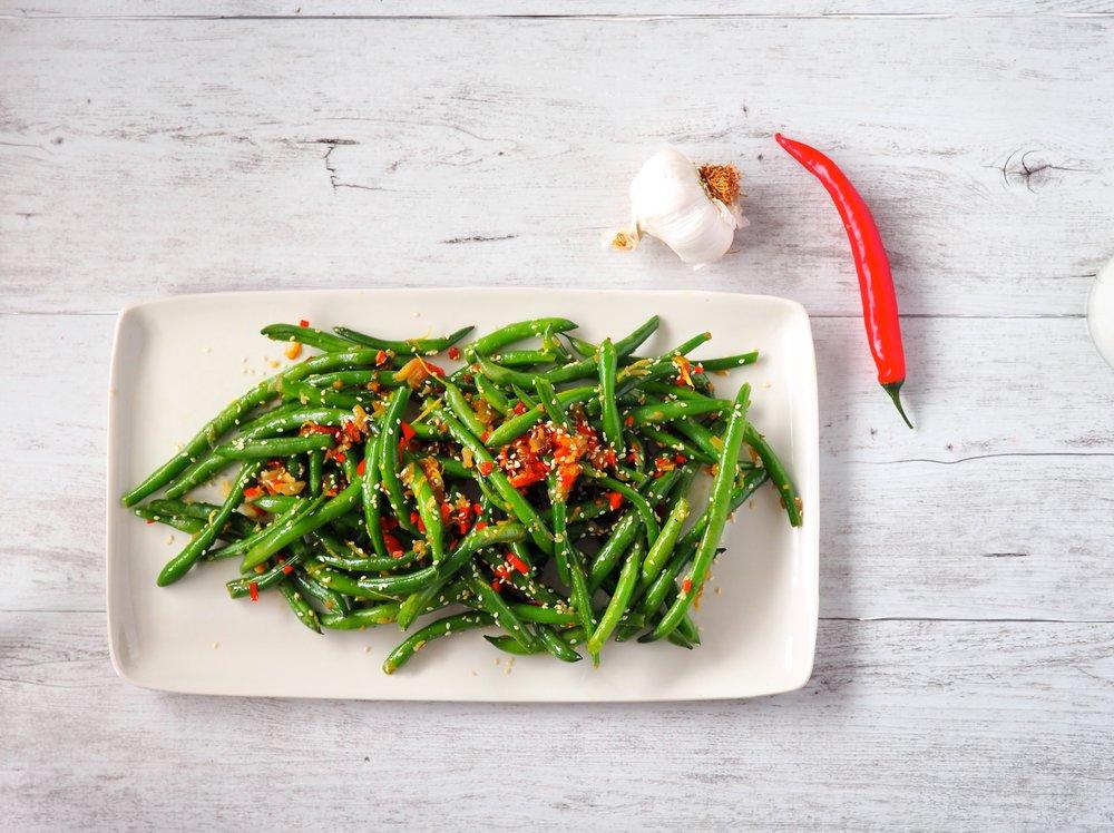 Garlic Chilli Green Beans