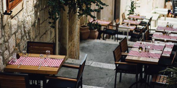 Italian cafe healthy travel