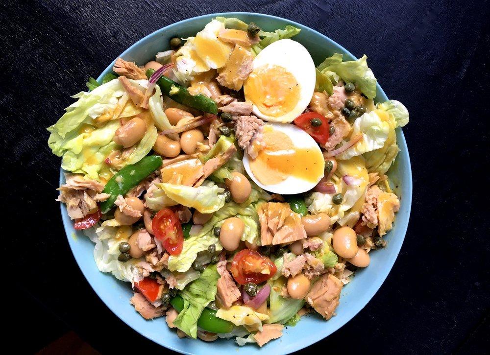 Tuna Salad Niçoise Healthy recipe