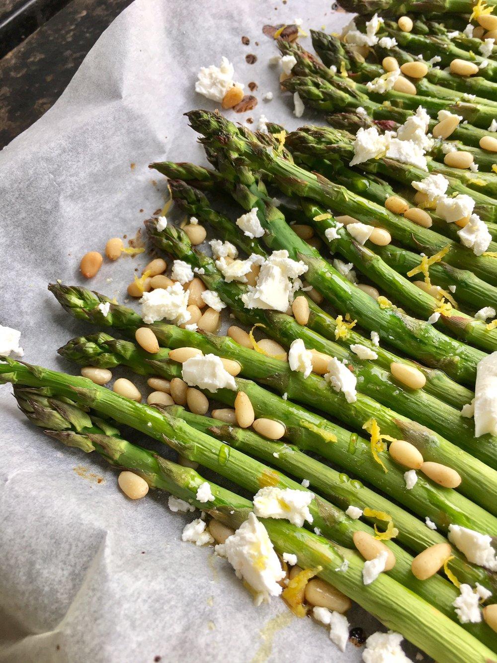 Australian asparagus recipe healthy eating