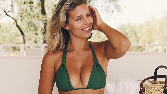 Aussie bikini model and designer, Natasha Oakley.