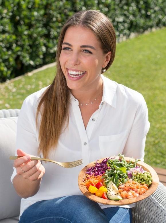 Australian dietician Nutritionist Lyndi cohen