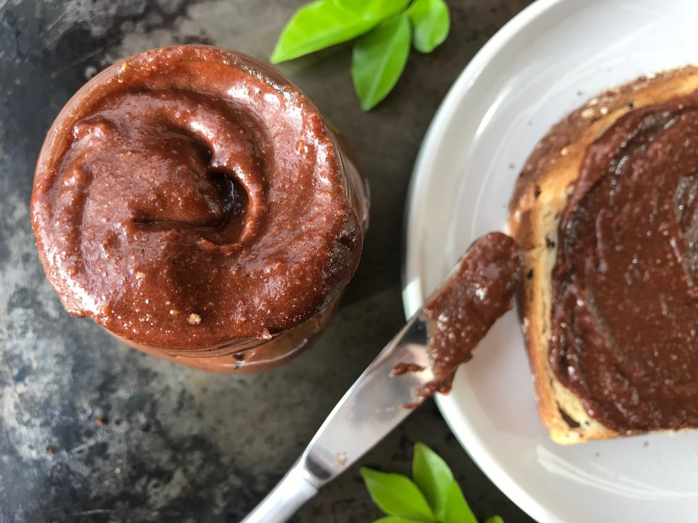 Healthy Chocolate and Hazelnut Spread