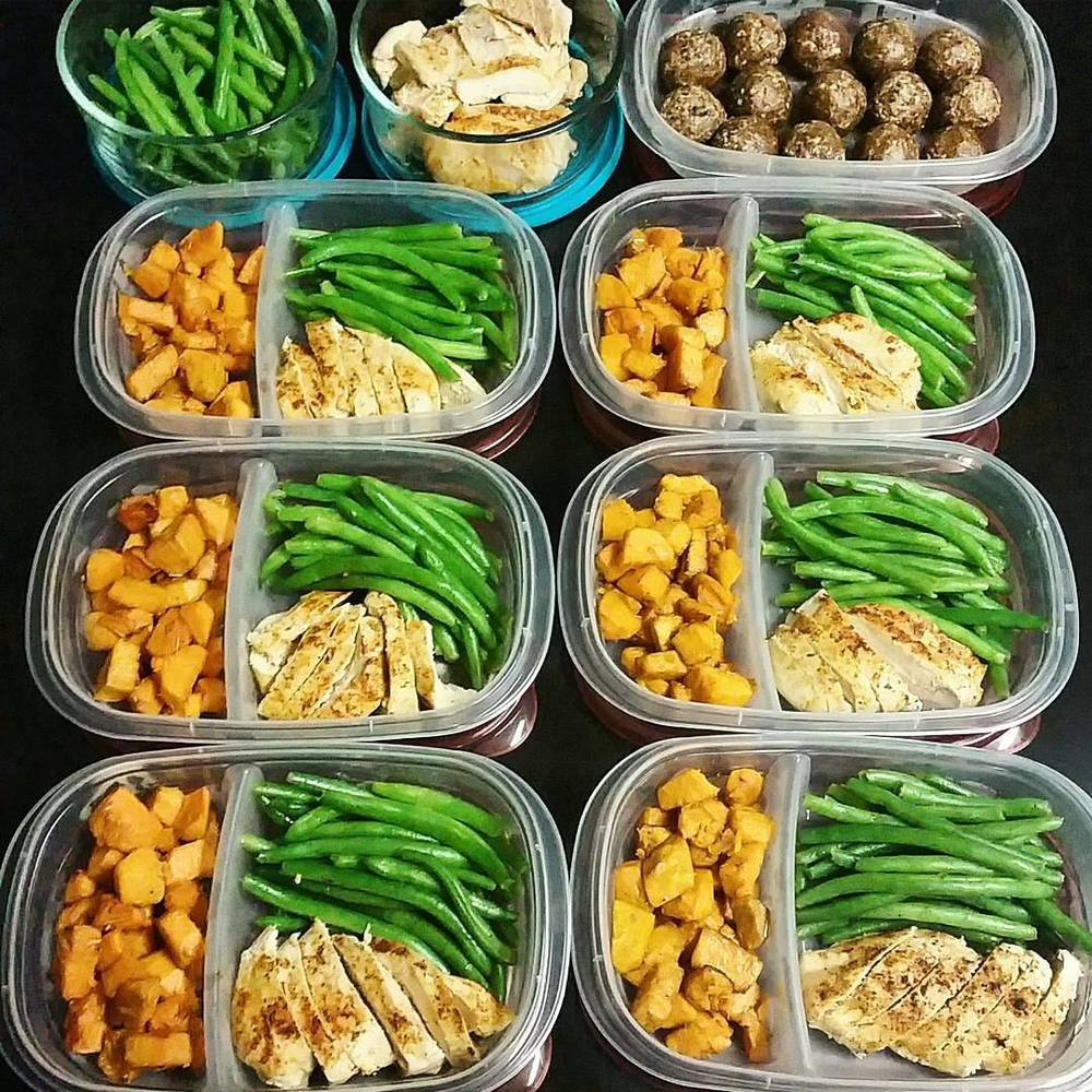 Unhealthy meal prep