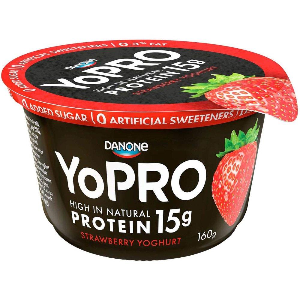 Yo Pro yoghurt