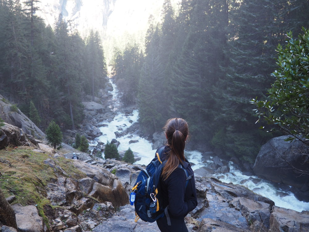 Hiking in Yosemite National Park recently. This place is insanely amazing! You don't need to be this active though. Even walking through a city makes it easier to be healthy than sitting in a taxi, on a bus or cruise ship.