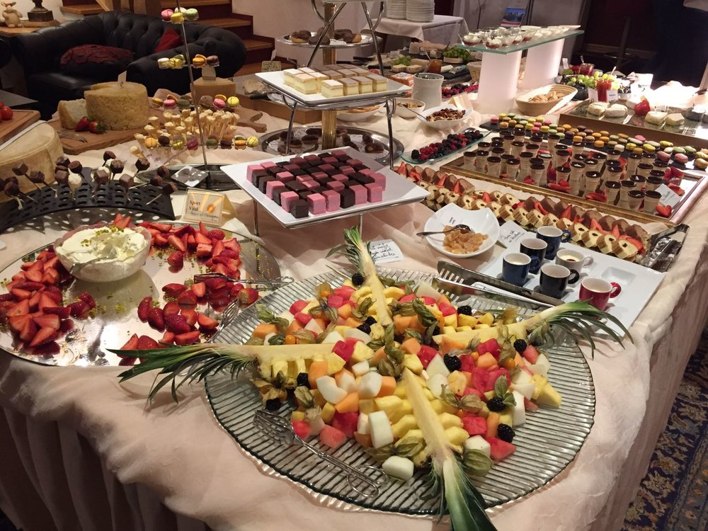 The dessert buffet from my recent holiday....