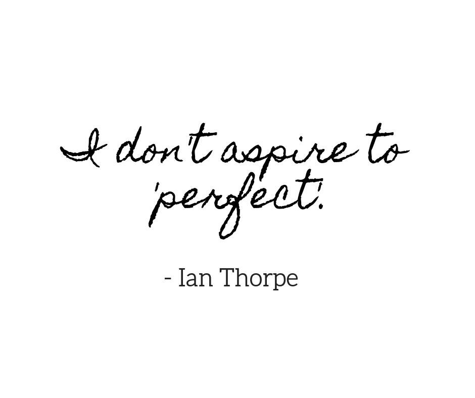 Ian Thorpe Quote