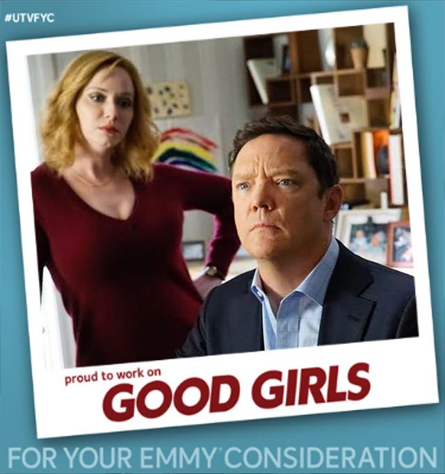 Had a blast working with the cast & crew of @nbcgoodgirls in the makeup department on season 1! Congrats to everyone! #utvfyc #foryourconsideration #teamdeam @matthewlillard #teamstan @renowilson1 #makeupdepartment @sashagrossman @ellenarden #promakeupartist #setlife #matthewlillard #renowilson