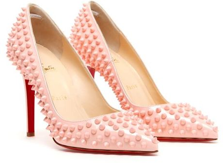 df44387067ce CHRISTIAN LOUBOUTIN SPIKED PIGALLE 120mm — %